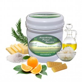 Sugar Scrub Cypress Orange 1 Kg