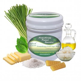 Sugar Scrub Lemongrass Mint 1 Kg