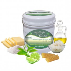 Sugar Scrub Tea Tree Lime 1 Kg