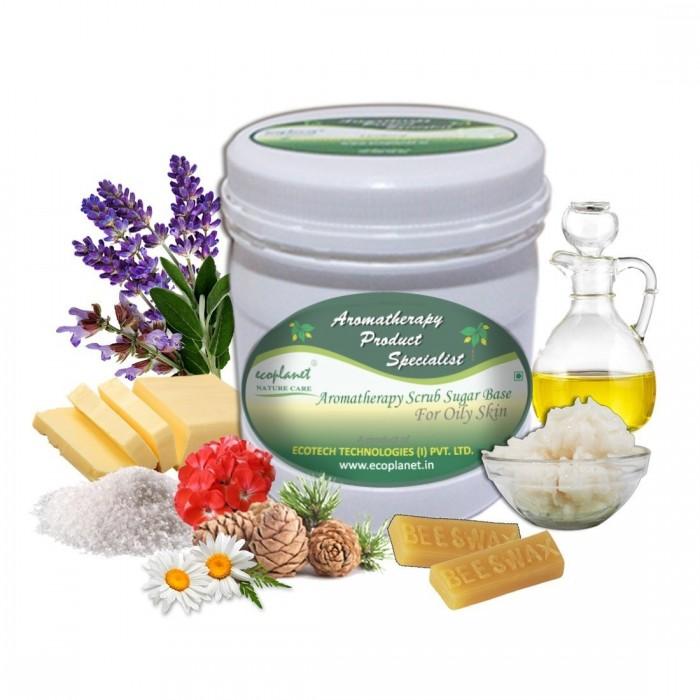 scrub sugar base oily skin