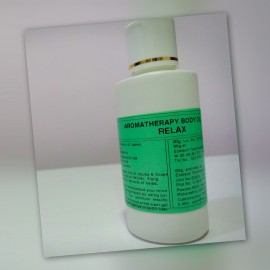 Aromatherapy After Bath & Shower Body Oil - Relax 100 ml