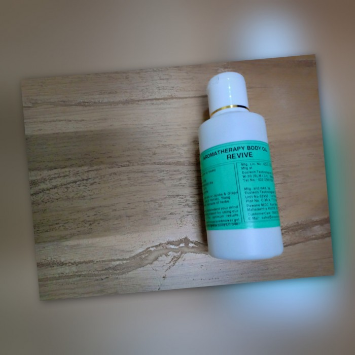 ecoplanet body oil revive 100 ml