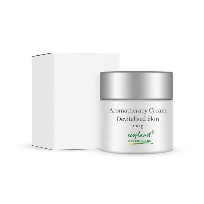 ecoplanet aromatherapy cream with dry skin treatment properties