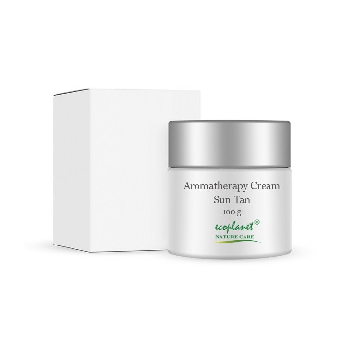 aromatherapy cream with sun tan removal properties