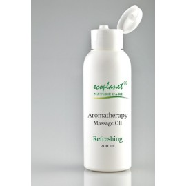 Aromatherapy Massage Oil with Refreshing Properties