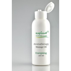 Aromatherapy Massage Oil with Energizing Properties