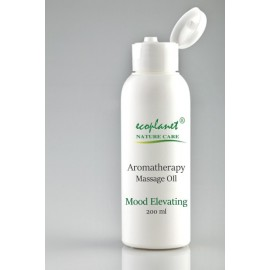 Aromatherapy Massage Oil with Mood Elevating Properties