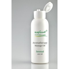 aromatherapy massage oil with sensual properties 200 ml