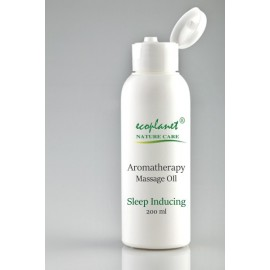 Aromatherapy Massage Oil with Sleep Inducing Properties