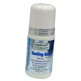 Aromatherapy Cooling Gel Roll-On with Pain Relief Properties