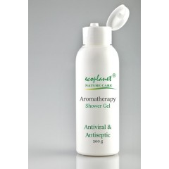 aromatherapy shower gel with antiviral and antiseptic properties 200 g