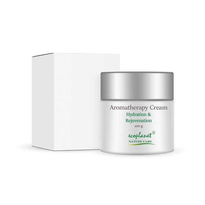 ecoplanet aromatherapy hydration and rejuvenation sandalwood cream  cream 100 g