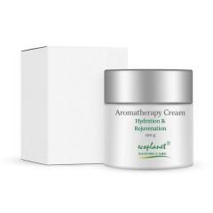 ecoplanet aromatherapy hydration and rejuvenation sandalwood cream  cream 100 g