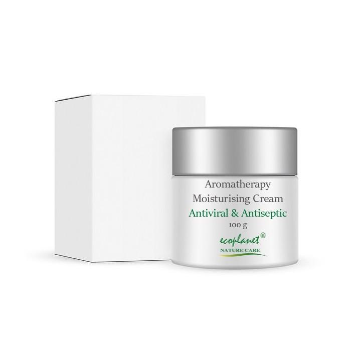 ecoplanet aromatherapy moisturising cream antiviral and antiseptic 100 g