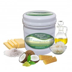 Salt Scrub Green Tea Coconut 1 Kg