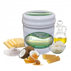 Scrub Salt Base Honey Coconut 1 Kg