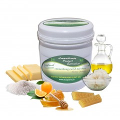 Scrub Salt Base Honey Orange 1 Kg
