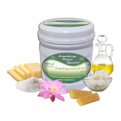 Salt Scrub Lotus 1 Kg Anti-Ageing Skin Smoothing