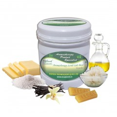 Salt Scrub Vanilla 1 Kg Exfoliating Skin Smoothing