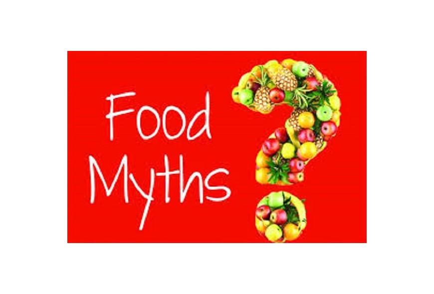 Top Ten Diet Myths